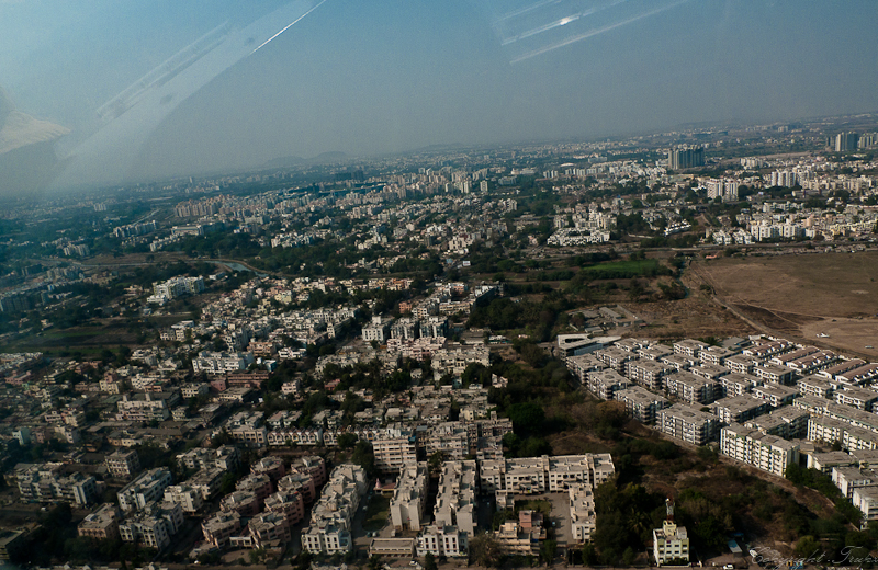 Ariel view - Pune city